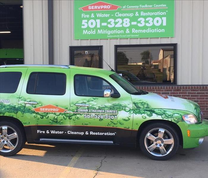 Our Green Fleet at SERVPRO of Conway & Faulkner Counties has grown again!